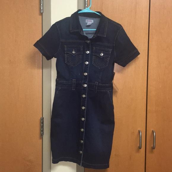 4b579924819 True Religion Dresses | Denim Bodycon Dress | Poshmark